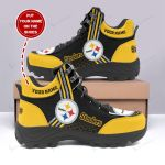 Pittsburgh Steelers Personalized Hiking Shoes 71