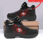 San Francisco 49ers Personalized Hiking Shoes 78