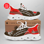 Cleveland Browns Yezy Running Sneakers 263