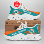 Miami Dolphins Yezy Running Sneakers 287