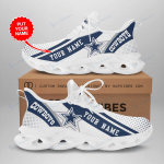 Dallas Cowboys Yezy Running Sneakers 285