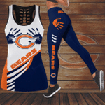 Chicago Bears Leggings And Tank Top 151