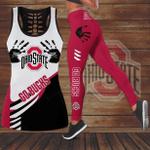 Ohio State Buckeyes Leggings And Tank Top 156