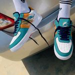 Miami Dolphins AF1 Sneakers 23