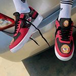 Kansas City Chiefs AF1 Sneakers 36