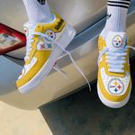 Pittsburgh Steelers AF1 Sneakers 39