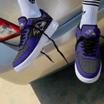 Baltimore Ravens AF1 Sneakers 33