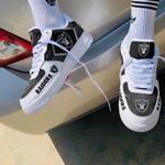 Las Vegas Raiders AF1 Sneakers 38