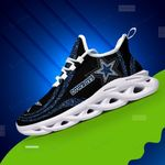 Dallas Cowboys Yezy Running Sneakers 321