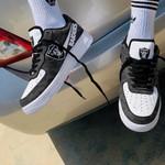 Las Vegas Raiders AF1 Sneakers 60