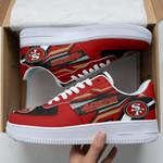 San Francisco 49ers AF1 Sneakers 44