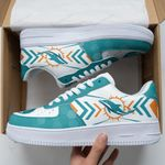 Miami Dolphins AF1 Sneakers 50