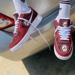 Atlanta Braves Personalized AF1 Sneakers 91