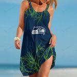 Seattle Seahawks Beach Dress 98