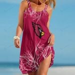 Arizona Cardinals Beach Dress 101