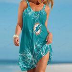 Miami Dolphins Beach Dress 105