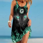 Green Bay Packers Beach Dress 112