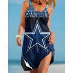 Dallas Cowboys Beach Dress 114