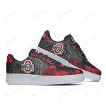 Ohio State Buckeyes AF1 Sneakers 128