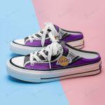 Los Angeles Lakers Half Slip Canvas Shoes 10
