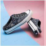 Dallas Cowboys Half Slip Canvas Shoes 14