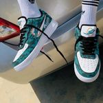 Miami Dolphins AF1 Shoes 139