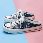 Dallas Cowboys Half Slip Canvas Shoes 18