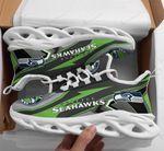 Seattle Seahawks Yezy Running Sneakers 350