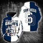 San Diego Padres Hoodie S677