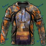 Camo Deer Hunting Hoodie T-Shirt Sweatshirt AZ112201 NM