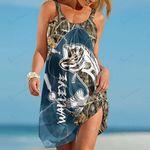 Walleye Fishing Beach Dress 23