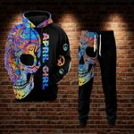 Peace Skull April Girl 3D All Over Printed 129