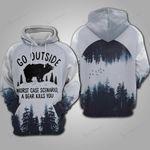 Bear Camping Hoodie 069