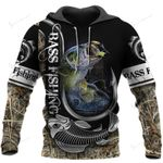 Bass Fishing 3D All 1102 Hoodie Over Print 225