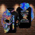 Peace Skull June Girl 3D All Over Printed 131
