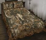 Love Skull Hunting Quilt Bed Set 13