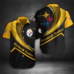 Pittsburgh Steelers Button Shirt 051