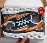 Chicago Bears Personalized Yezy Running Sneakers 352