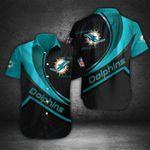 Miami Dolphins Button Shirt 057
