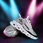Las Vegas Raiders Yezy Running Sneakers 379