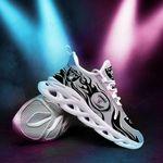 Las Vegas Raiders Yezy Running Sneakers 383