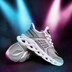 Las Vegas Raiders Yezy Running Sneakers 373