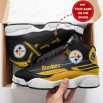 Pittsburgh Steelers Personalized AJD13 Sneakers 1096