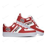Ohio State Buckeyes AF1 Shoes 207