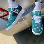 Miami Dolphins AF1 Shoes 210