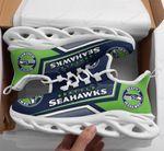 Seattle Seahawks Yezy Running Sneakers 414