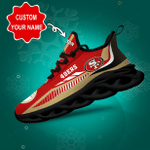 San Francisco 49ers Yezy Running Sneakers 436