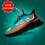 Miami Dolphins Yezy Running Sneakers 429
