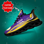 LSU Tigers Yezy Running Sneakers 433