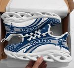 Dallas Cowboys Yezy Running Sneakers 423
